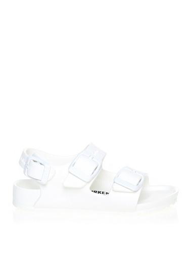 Birkenstock Birkenstock Beyaz Sandalet Beyaz